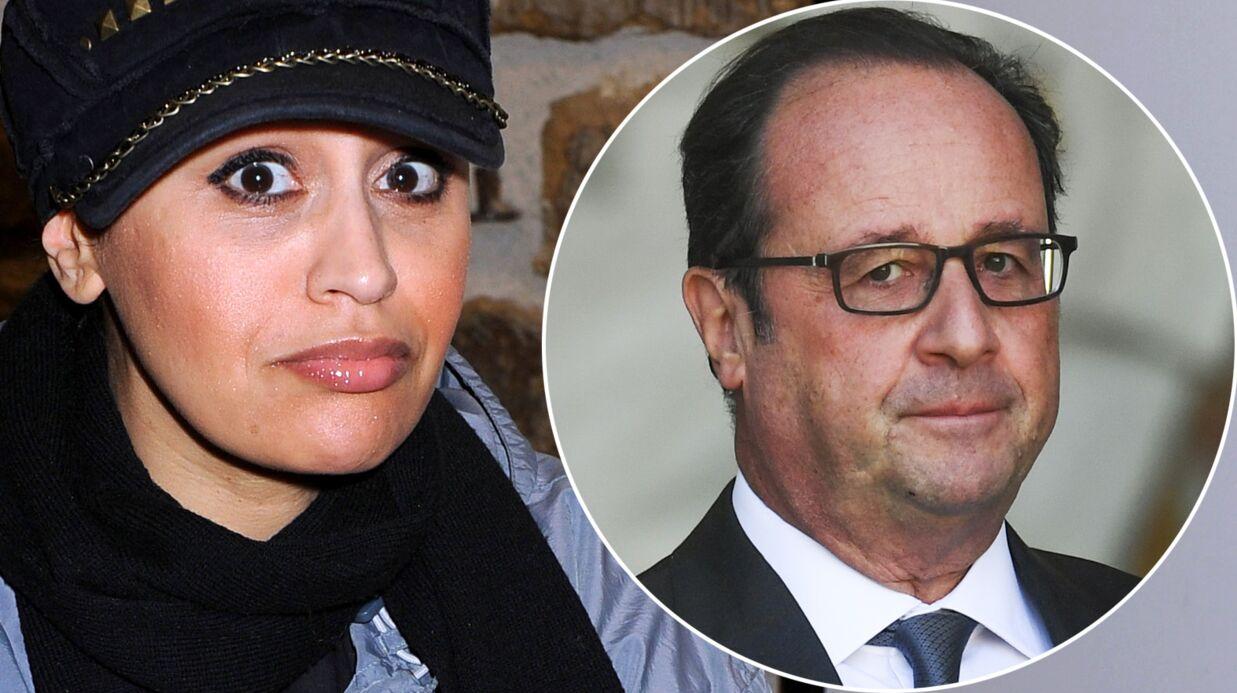 PHOTO Lââm réagit (à sa façon) à l'annonce de François Hollande