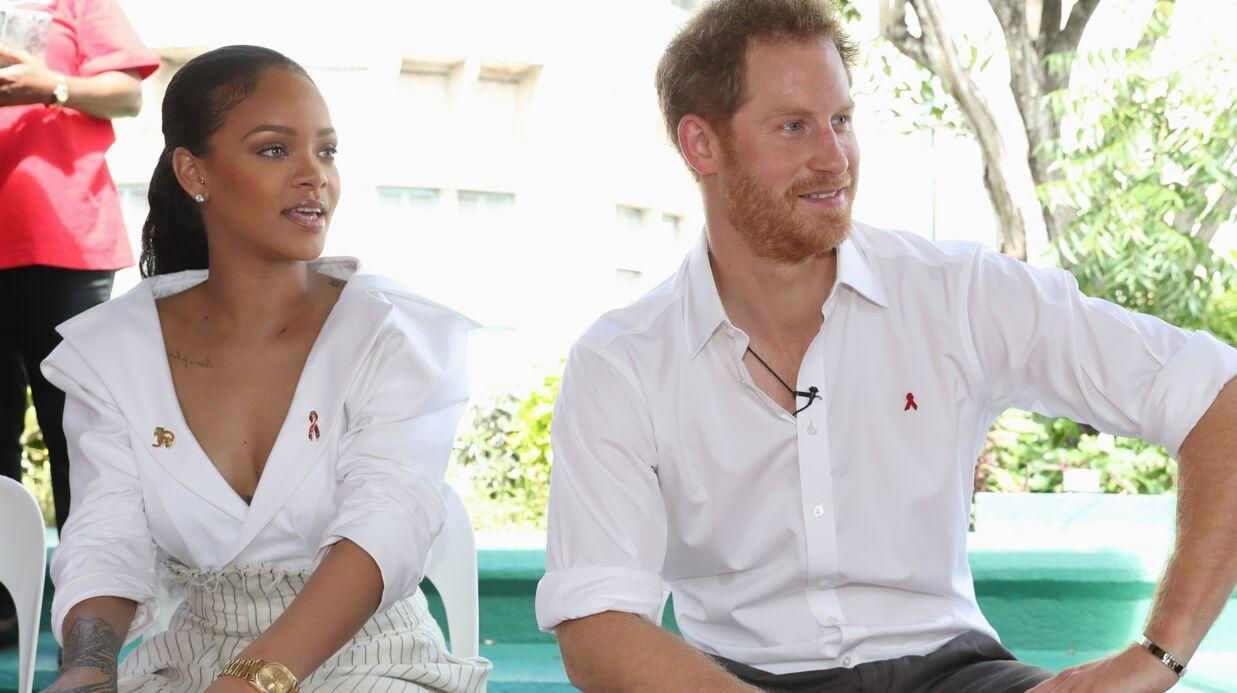Le Prince Harry et Rihanna se font dépister du SIDA ensemble