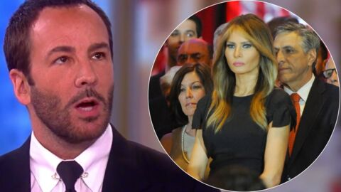 Tom Ford refuse d'habiller Melania Trump, la nouvelle first lady