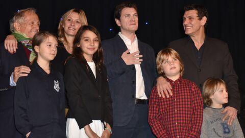 PHOTOS Marc Lavoine avec sa femme et ses enfants pour dévoiler sa statue de cire