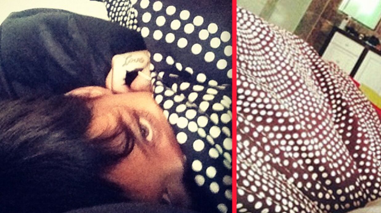 PHOTOS Rihanna et Chris Brown ensemble au lit pour le Nouvel An