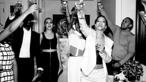 DIAPO Le réveillon chic, sexy et alcoolisé de Rihanna