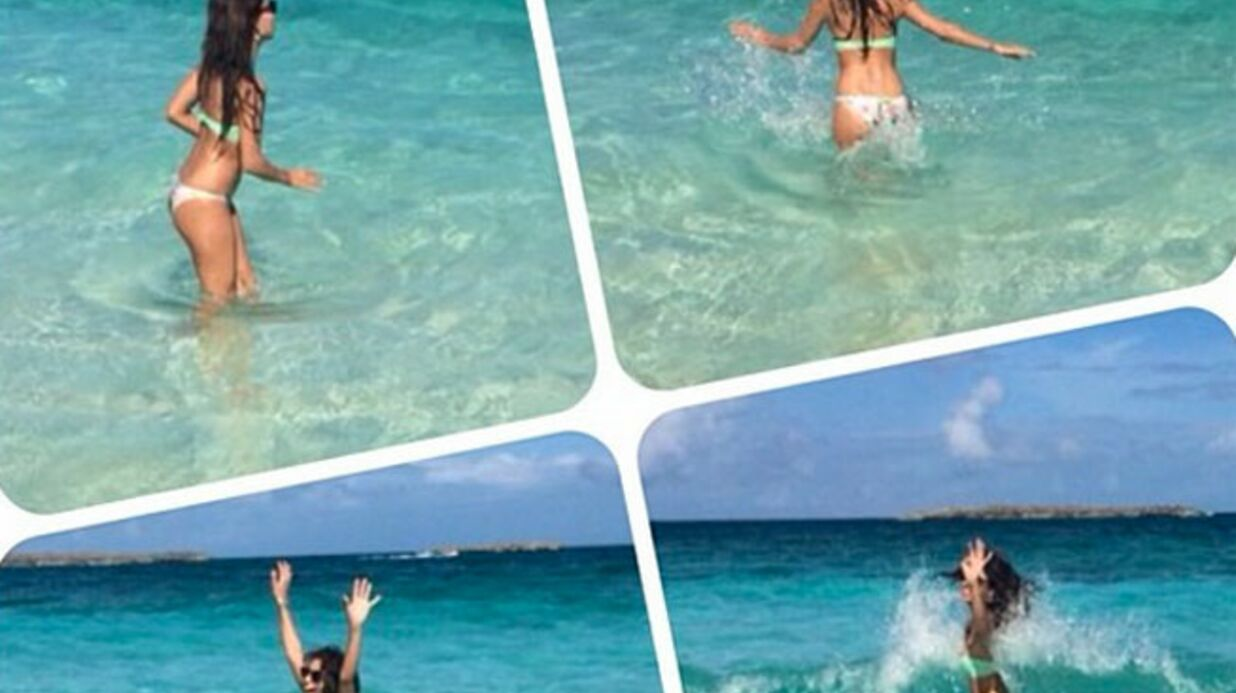 PHOTOS Tal s'éclate en maillot sous le soleil des Bahamas