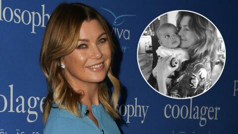 Ellen Pompeo dévoile une adorable vidéo de son nouveau-né