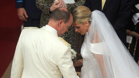 Mariage d'Albert II de Monaco et Charlene Wittstock: la cérémonie religieuse