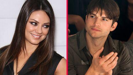 Ashton Kutcher et Mila Kunis pris en flag'