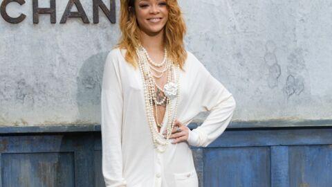 DIAPO Rihanna radieuse au défilé Chanel malgré sa nuit blanche