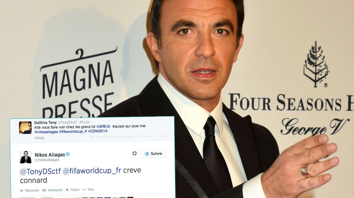 L'internaute insulté par Nikos Aliagas juge sa réaction «excessive»