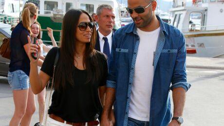PHOTOS Tony Parker et sa fiancée Axelle Francine à Saint-Tropez