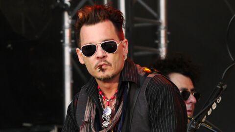 Johnny Depp aurait transformé son tatouage pour Amber Heard en insulte