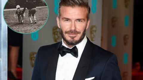PHOTO On adore : David Beckham apprend à sa fille à faire du vélo comme une grande