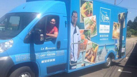Teheiura (Koh-Lanta) se lance dans le food truck et inaugure son premier camion