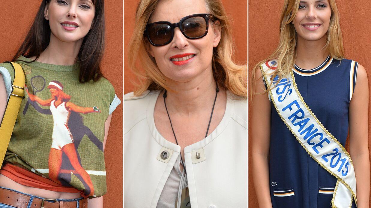 PHOTOS Valérie Trierweiler, Miss France et Frédérique Bel à Roland-Garros