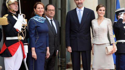 PHOTOS Ségolène Royal endosse le rôle de première dame auprès de François Hollande