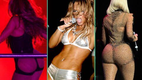 DIAPO Découvrez ces stars qui ont osé porter des tenues ultra hot sur scène!