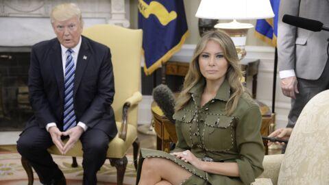 Melania Trump: la Maison-Blanche lui a interdit de suivre le même itinéraire que Brigitte Macron à Bruxelles