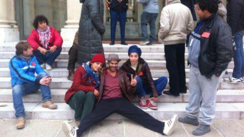 PHOTO Jamel Debbouze tourne un film à l'Elysée