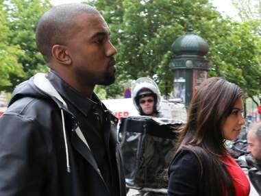 Kim Kardashian a rejoint Kanye West à Paris pour une journée