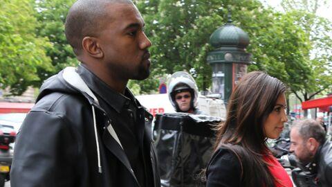 DIAPO Kim Kardashian roucoule avec Kanye West à Paris