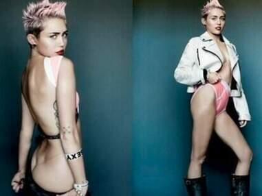 Le shootinhg ultra sexy de Miley Cyrus pour V Magazine
