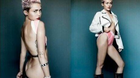 PHOTOS Miley Cyrus: son shooting ultra provocant pour V Mag