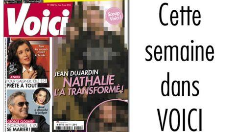 C'est dans Voici: Jean Dujardin, Nathalie Péchalat l'a transformé