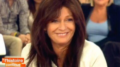 VIDEO Sophie Davant en brune… pour une blague qui tombe à plat