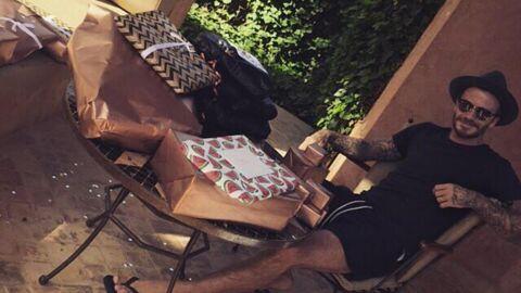 PHOTOS David Beckham fête ses 40 ans sur Instagram (et taquine encore son fils)