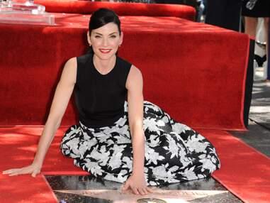 Julianna Margulies (Urgences) reçoit son étoile sur le Walk of Fame