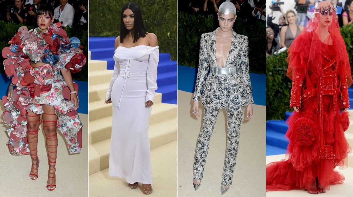 PHOTOS L'étonnante robe de Rihanna, Kim Kardashian virginale… Le meilleur du MET Ball 2017