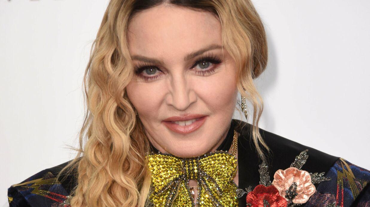 PHOTOS Madonna publie un avant/après de son maquillage pour le MET Gala
