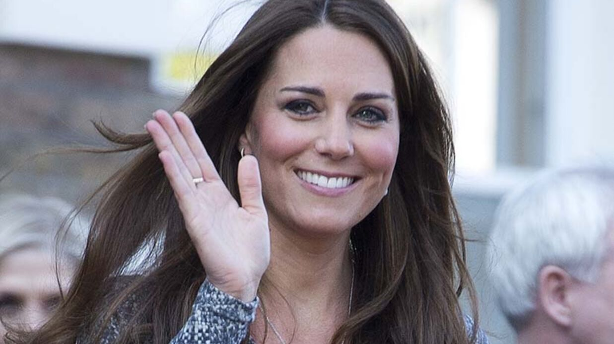 Kate Middleton fait son shopping maternité chez Topshop