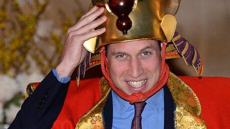 PHOTOS Le drôle de séjour du prince William au Japon!