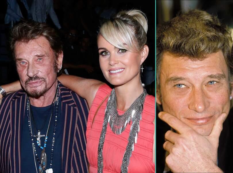 Johnny Hallyday aujourd'hui à 72 ans et à 40 ans, l'âge actuel de sa femme Laeticia
