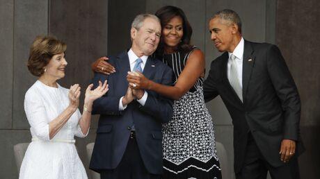 George W. Bush se confie sur son improbable amitié avec Michelle Obama