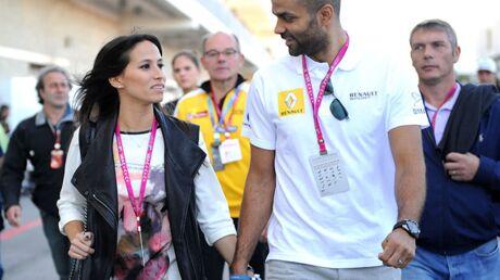 DIAPO Tony Parker et Axelle Francine très complices au Grand Prix des États-Unis
