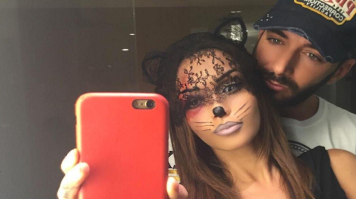 PHOTOS Nabilla en mode Catwoman pour Halloween avec Thomas Vergara