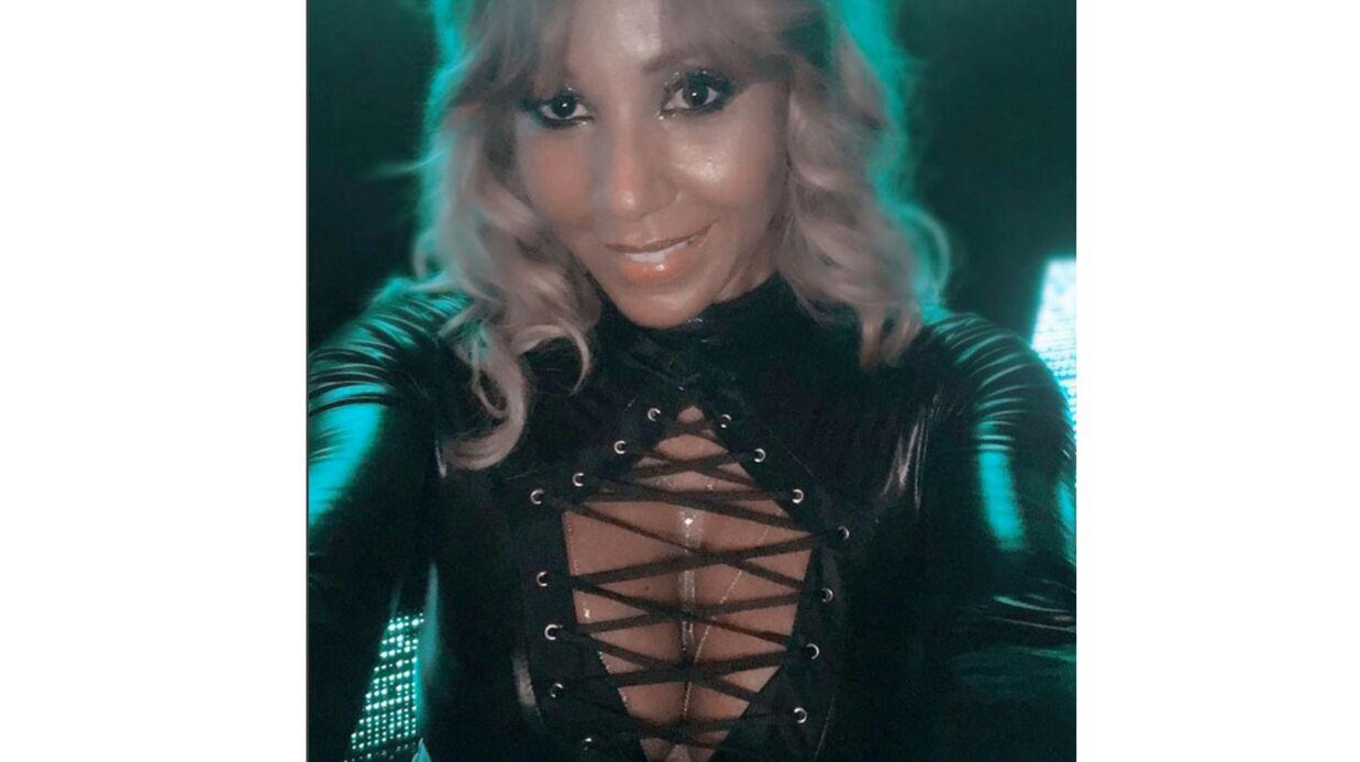 PHOTOS Cathy Guetta: décolleté d'enfer et latex à gogo pour un très sexy Halloween