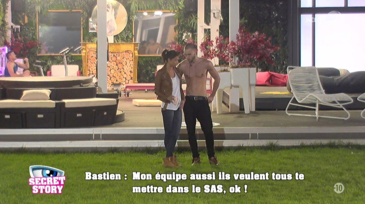 Secret Story 10: Bastien nominé avec Mélanie, il aurait préféré Julien