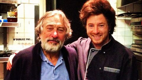 PHOTO Jean Imbert (Top Chef) : Robert De Niro dans son resto