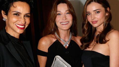 DIAPO Carla Bruni, Miranda Kerr et Scarlett Johansson s'éclatent ensemble