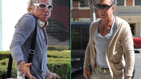 PHOTOS L'incroyable transformation de Mickey Rourke