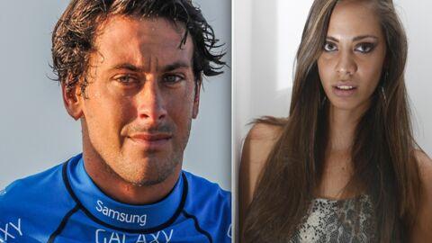 Hinarani de Longeaux, Miss Tahiti 2012, en couple avec le surfeur Jérémy Florès
