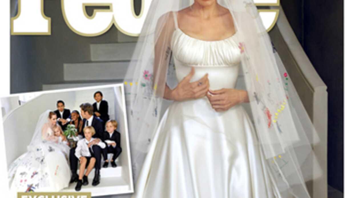 Les premières photos du mariage de Brad Pitt et Angelina Jolie