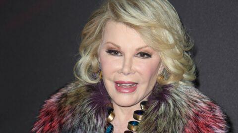 Après avoir été entre la vie et la mort, Joan Rivers se rétablit doucement