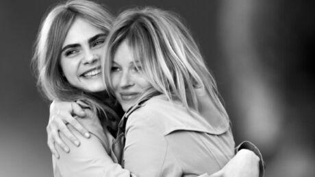 Kate Moss et Cara Delevingne réunies pour My Burberry
