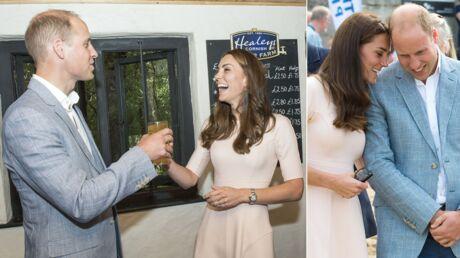 PHOTOS Kate Middleton et le prince William très complices: ils s'éclatent comme des ados