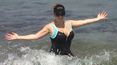 PHOTO Mariah Carey: première baignade post-grossesse