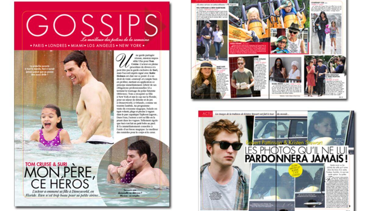 Toutes les photos de Kristen Stewart et de son amant dans Voici!