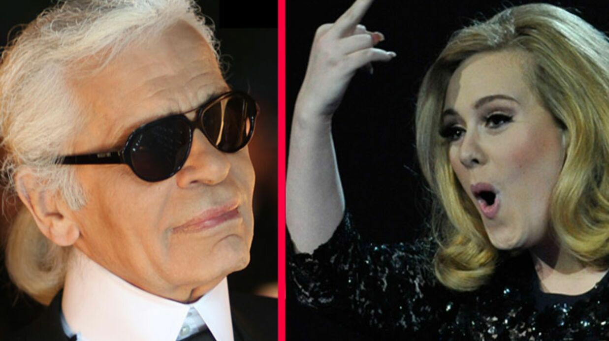 Karl Lagerfeld couvre Adele de cadeaux pour se faire pardonner